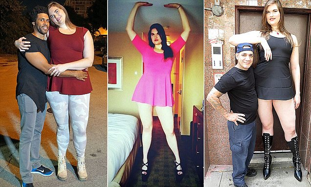 6ft 9in Woman From Nyc Embraces Her Height After Working As Fetish Model Daily Mail Online