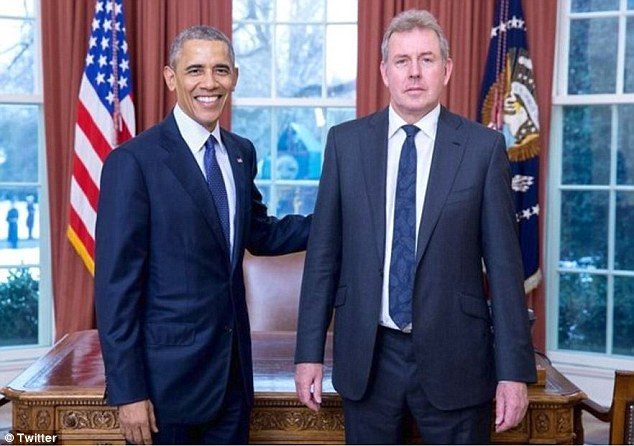 Trump's team never expected that Mrs May would welcome the suggestion and jettison the current UK ambassador to Washington, Sir Kim Darroch  to make way for a man who has caused the Tory Party so many problems