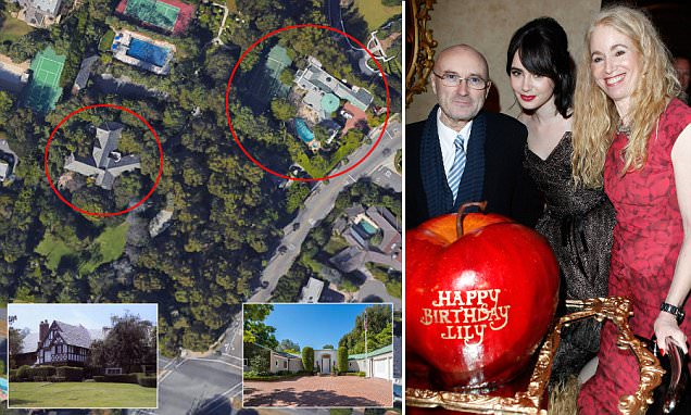 Phil Collins Ex Wife Buys The House Next Door To Her For