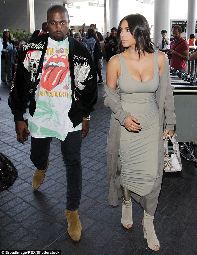 Hospital for the holidays: Kanye West will spend Thanksgiving at UCLA Medical Center with Kim Kardashian by his side (pictured June)