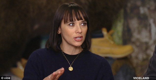 Monkey business: Rashida Jones said she was bitten by Michael Jackson's pet chimp Bubbles, as a youngster