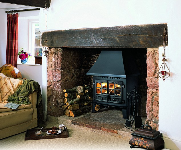 If you've got a fire or wood burner then winter is the ideal time to show it off