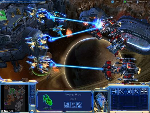 Google's DeepMind has teamed up with games-maker Blizzard Entertainment to turn one of its hit video games into a learning environment for AI. The popular real-time strategy game StarCraft 2 (still pictured) will be used to teach and test machine agents