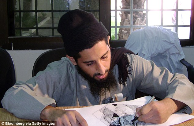 Dozens of Guantanamo detainees have been sent through to the program as a condition for their release. Programs include art therapy