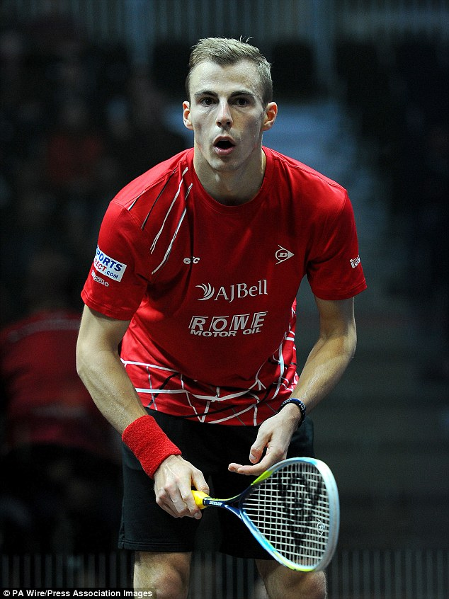 Nick Matthew is a three-time World Squash Champion and three-time Commonwealth gold medalist