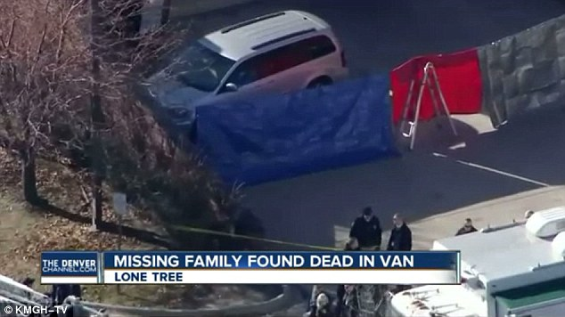 Their bodies were found on November 30 in a minivan that was parked outside a Sports Authority