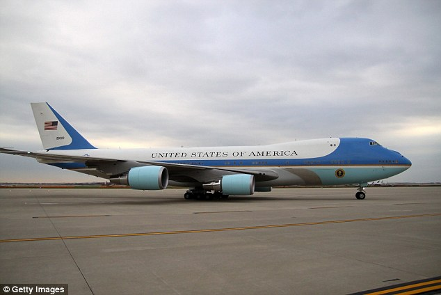 Air Force One, the president's 'mobile Oval Office,' boasts 4,000 square feet of space, classified communications gear, missile defenses and a surgical suite