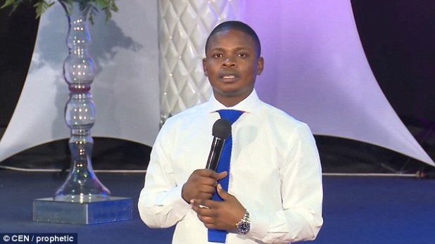 The service was led by prophet Shepherd Bushiri at the Enlightened Christian Gathering Church in Pretoria