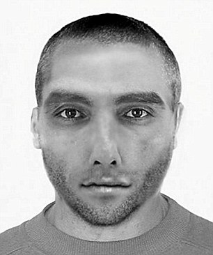 Iraqi asylum seeker Zaid K (pictured) has been arrested in Germany for sexually assaulting two Chinese students