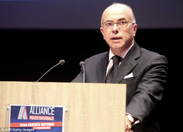Bernard Cazeneuve said 17 attacks have been thwarted in France so far this year and he is proposing Parliament extend the state of emergency until July 15 next year
