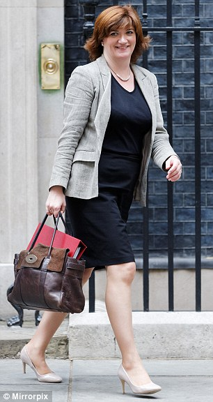 Nicky Morgan was under attack last night for criticising Theresa May over her expensive taste in trousers – despite having a £950 handbag herself