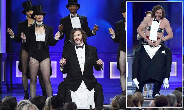 Host TJ Miller insults Trump at Critics Choice Awards and avoids mention of his own arrest