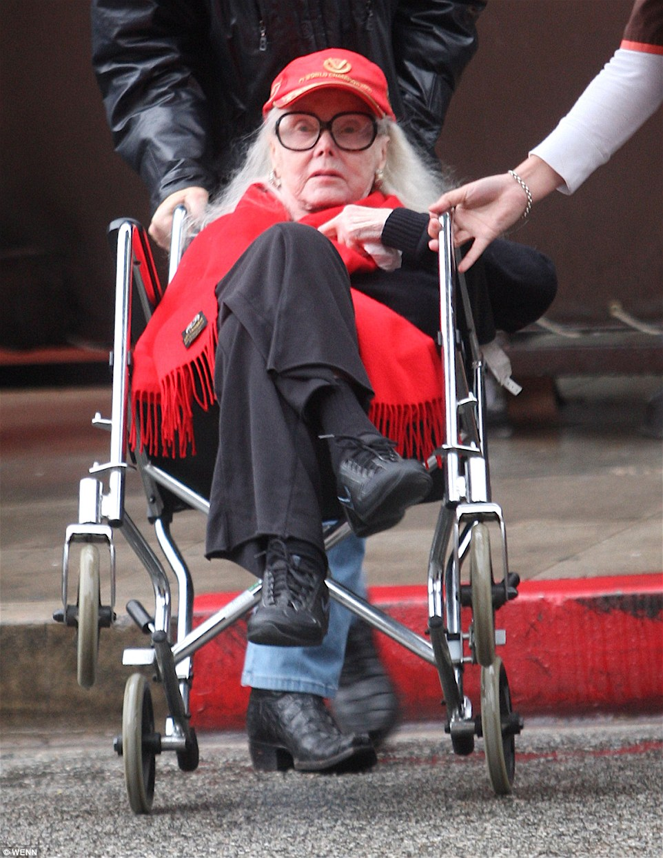 Hungarian actress and socialite Zsa Zsa Gabor has passed away at the age of 99. She is pictured above in 2010