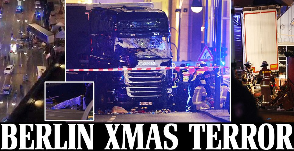 Berlin terror attack: Lorry ploughs into crowd at Christmas market killing nine