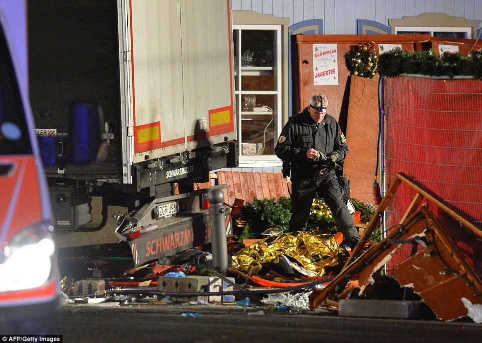 The truck that killed 12 people and injured 50 as it careered through a Christmas market in Berlin had been stolen from a construction site, police have revealed