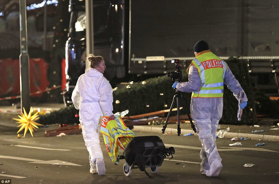 The arrest fuels fears for the Polish man who was registered as the driver, as his firm's owner said he had 'total confidence' he was not behind the wheel during the Nice-style massacre