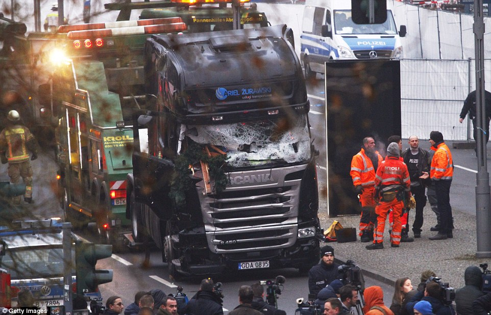 Will the lorry killer strike again? Police and the security services are hunting for the Christmas market killer and admit a second terror attack could be imminent