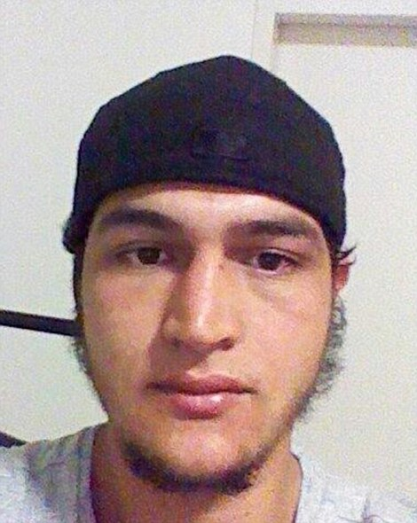 Most wanted: Police today revealed they are hunting Anis Amri, 23, pictured, a refugee who came to Germany earlier this year. His paperwork was found in truck's footwell. The driver is believed to be armed and dangerous
