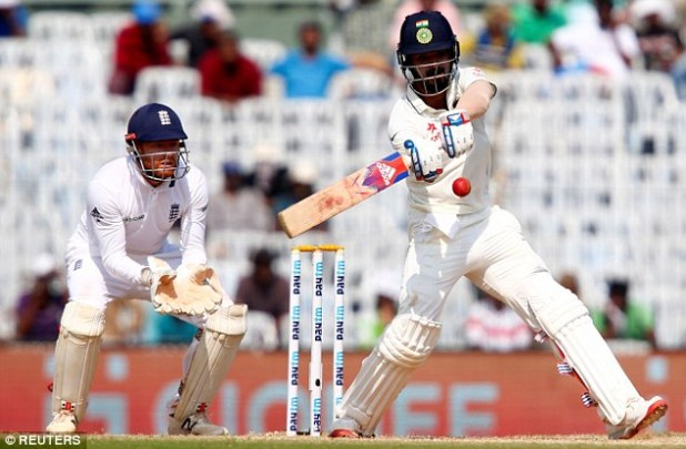 Wicketkeeper Jonny Bairstow (left, pictured with Lokesh Rahul) is also included in the team