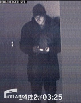 Amri was captured on CCTV outside the place of worship in the city's Moabit neighbourhood