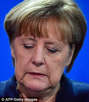 Angela Merkel confirmed it was being treated as a terrorist attack