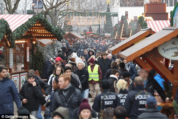 The market, in the centre of Berlin, reopened on Thursday morning with heightened security, three days after the massacre