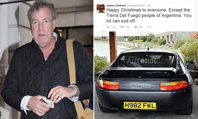 Jeremy Clarkson Angers Argentina AGAIN Two Years After Top
