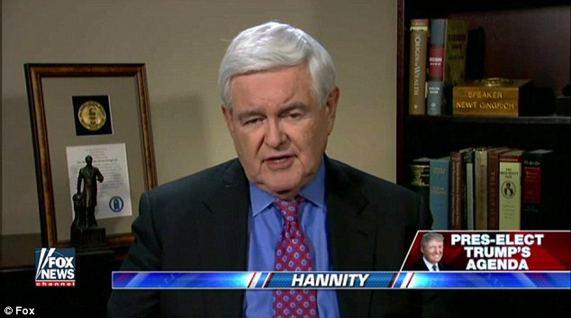 Former House Speaker Newt Gingrich talked about the legacies of both President Obama and President-elect Donald Trump on Fox News Sunday