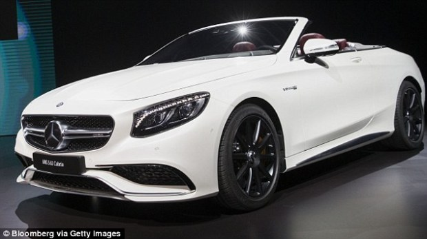 Police were able to recover the $160,900 Mercedes (file above) owned by the rapper and producer, whose real name is Dana Owens