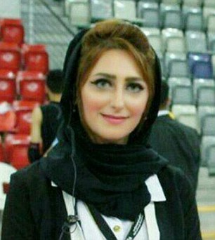 Eman Salehi, 28, was shot dead in the Bahraini city of Riffa. Activists have shared this photo of her online