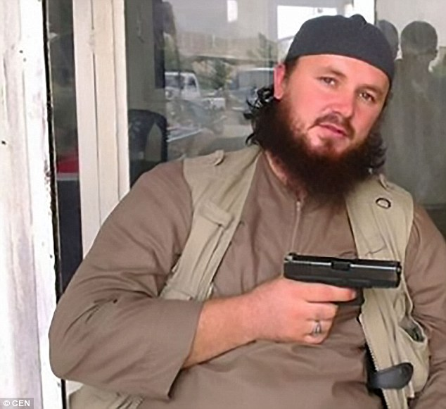 Ex-NATO soldier Lavdrim Muhaxheri and his men are among thousands who have fled after ISIS suffered devastating losses in war-torn Syria, according to Italian intelligence services