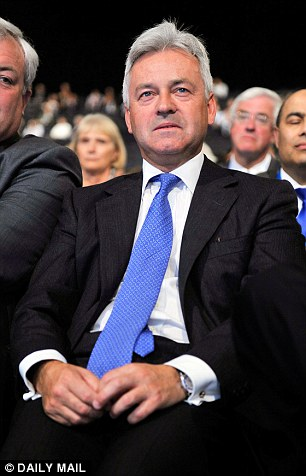 Target: Foreign Office deputy Sir Alan Duncan