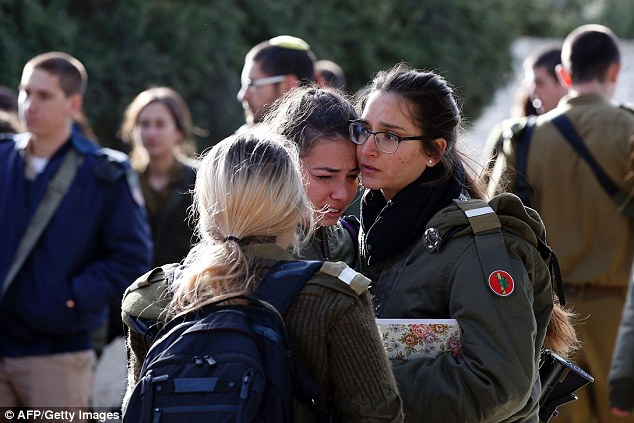 The soldiers were on a sightseeing visit to Jerusalem when the truck driver attacked