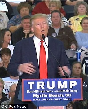 Donald Trump came under fire in 2015 after he mocked investigative reporter Serge Kovaleski at a Republican rally in South Carolina