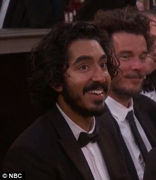 Streep mentioned Dev Patel's Kenyan heritage. He was raised in London and was nominated for a Golden Globe playing an Indian raised in Tasmania, Australia