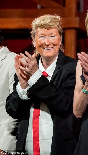 Streep as Trump