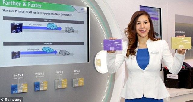 Samsung SDI has unveiled a new battery for electric cars that not only has better range, but is equip with'fast charged' capabilities. This high-energy density battery cell offers 373 miles (600 kilometers) of driving and can reach 80 percent capacity in just 20 minutes