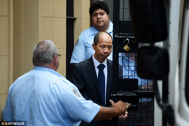 LOCKED AWAY: The latest trial of Lian Bin 'Robert' Xie lasted some five months - the verdict ally coming some seven years after the deaths shocked Australia