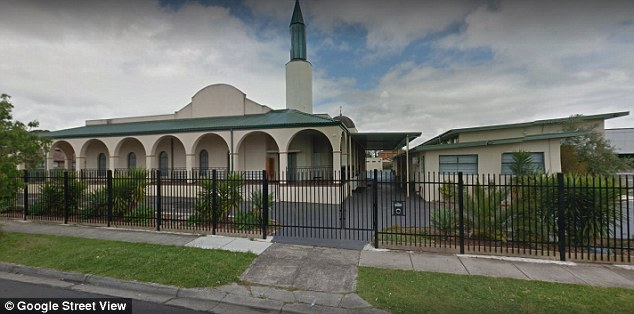 Omerdic is the imam of the Bosnian mosque in the Melbourne suburb of Noble Park (pictured) and is listed as a Muslim marriage celebrant