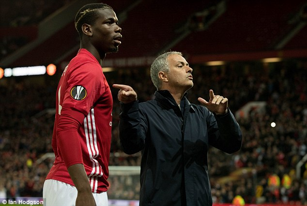 Image result for paul pogba mourinho