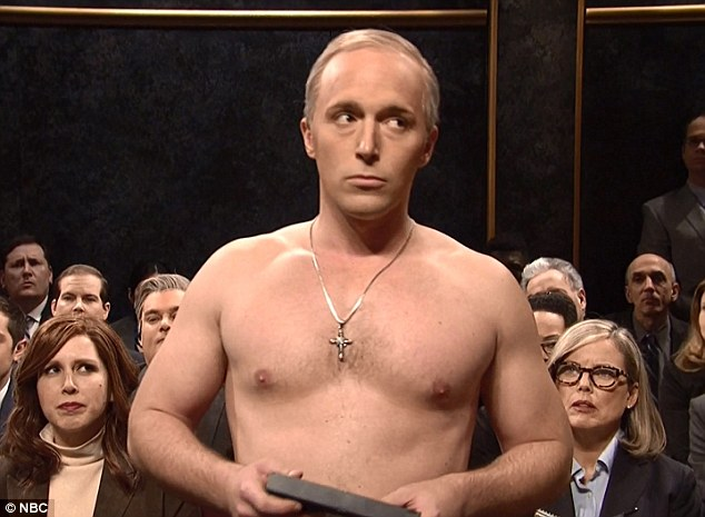 Image result for snl putin