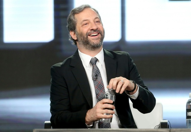 Executive producer/director Judd Apatow of the series 'Crashing' speaks onstage during the HBO portion of the 2017 Winter Television Critics Association Pres...