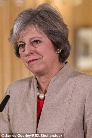 Theresa May is due to make a crucial speech outlining her Brexit blueprint tomorrow