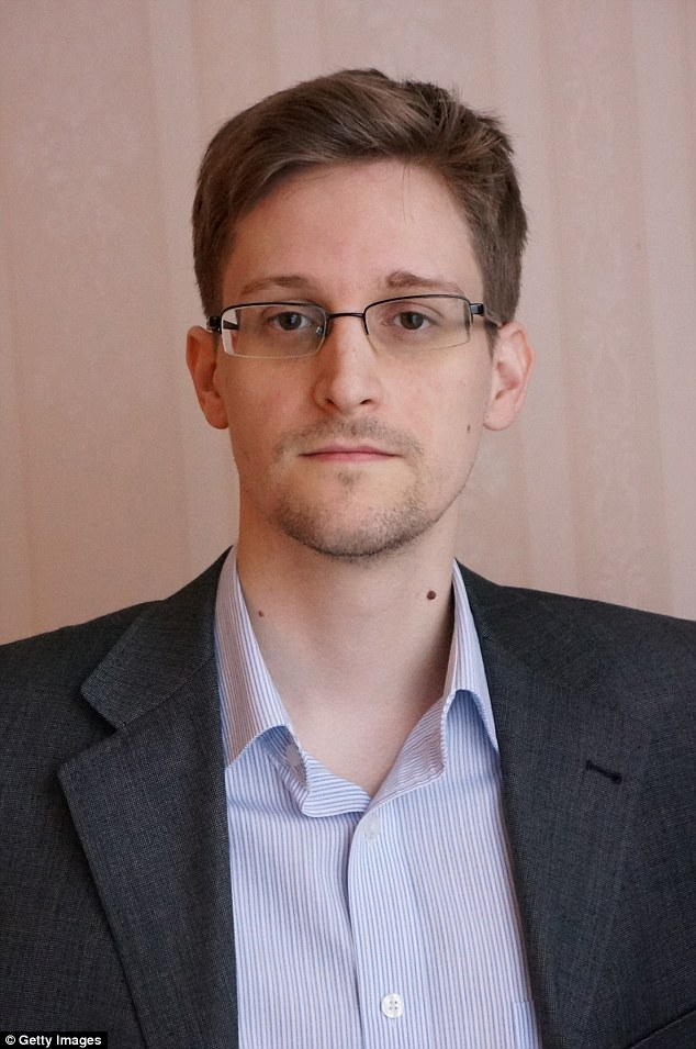 Issues surrounding surveillance gained prominence following revelations in 2013 by former government contractor Edward Snowden (pictured) that the National Security Agency (NSA) secretly collected the communications data of millions of ordinary Americans