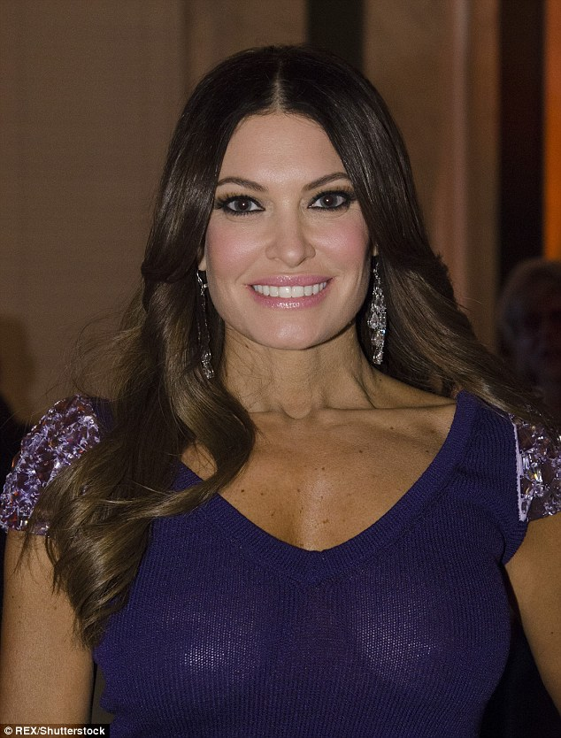 Fox News anchor Kimberly Guilfoyle was one of the many to turn out in DC for Trump's dinner