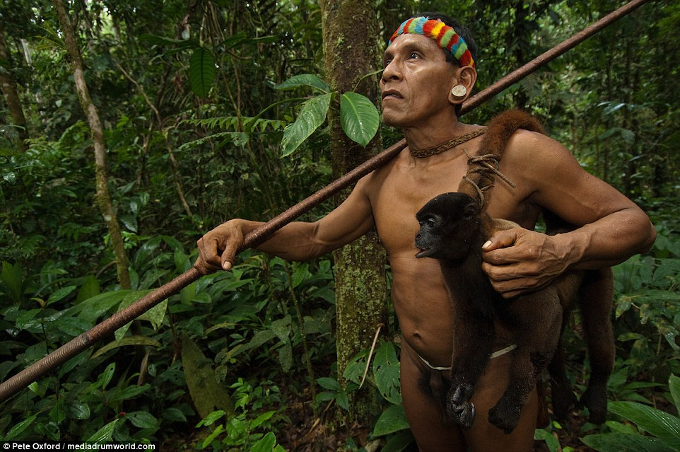 Life among the monkey hunters