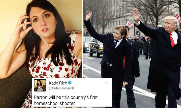 SNL writer apologizes and suspended for Barron Trump tweet