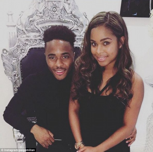 Sterling's new pad provides a base for girlfriend Paige Milian and their newborn son Thiago