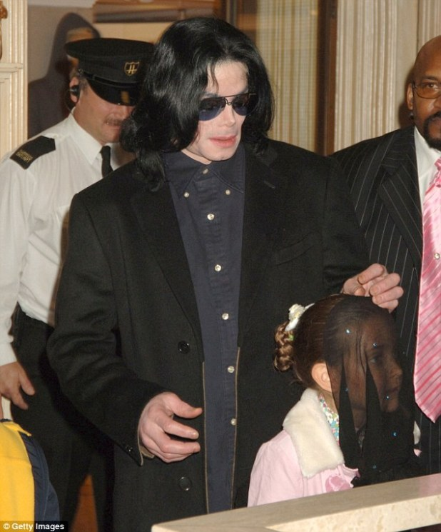 Paris, pictured with her father Michael in 2005 in London, said he would often drop hints that people were out to get him