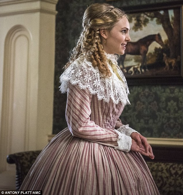 Historical drama: Set during the American Civil War, the show features Robb in a supporting role as Alice Green, a strident Confederate extremist